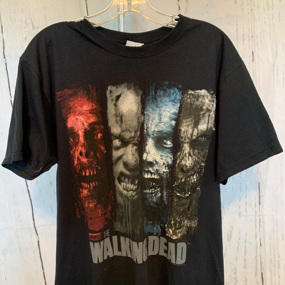 Fruit of the Loom Other - AMC The Walking Dead T-Shirt Men's Medium Graphic